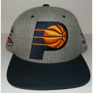 Men's 7 5/8 Mitchell & Ness Indiana Pacers Hat Cap